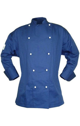 CR - Classic Navy Long Sleeve Chef Jacket - Global Chef
