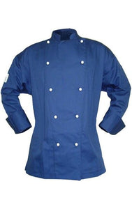 CR - Classic Navy Long Sleeve Chef Jacket