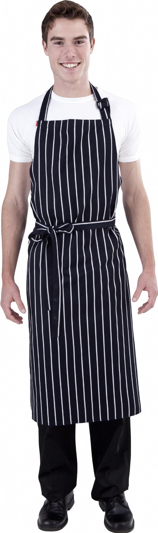 UK Bib FULL Length Chefs Bib Apron (Adjustable Neck) - Global Chef