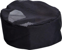 Load image into Gallery viewer, Black Mesh Top Chef Hat - Global Chef