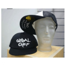 Load image into Gallery viewer, Black Funky Peaked Cap - Global Chef