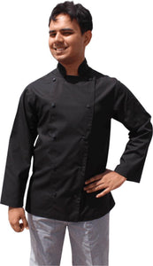 Black Coloured Long Sleeve Chef Jacket