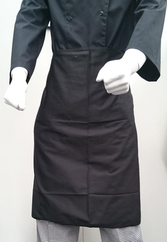 EPIC Black Cooks Apron -  3/4 Waist - Global Chef