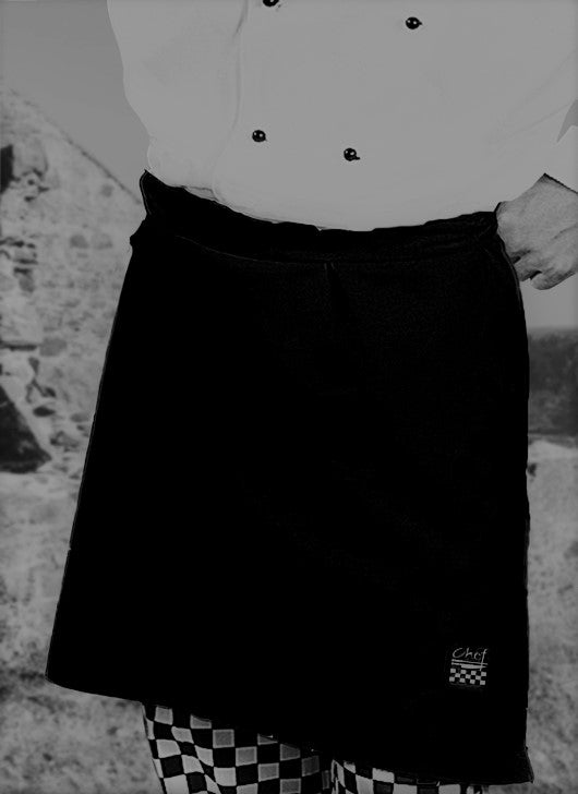 Black Waist Apron - Global Chef