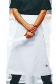 White Chefs Waist 3/4 Apron (Larger Size)