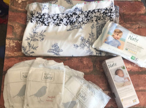 Eco friendly nappy changing bags