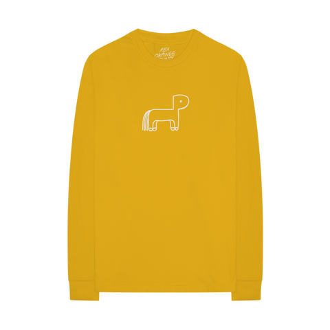 PONY LOGO L/S T-SHIRT + DIGITAL ALBUM