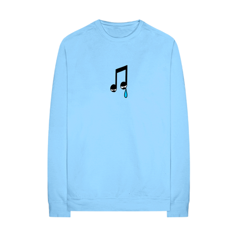 SAD NOTE CREWNECK