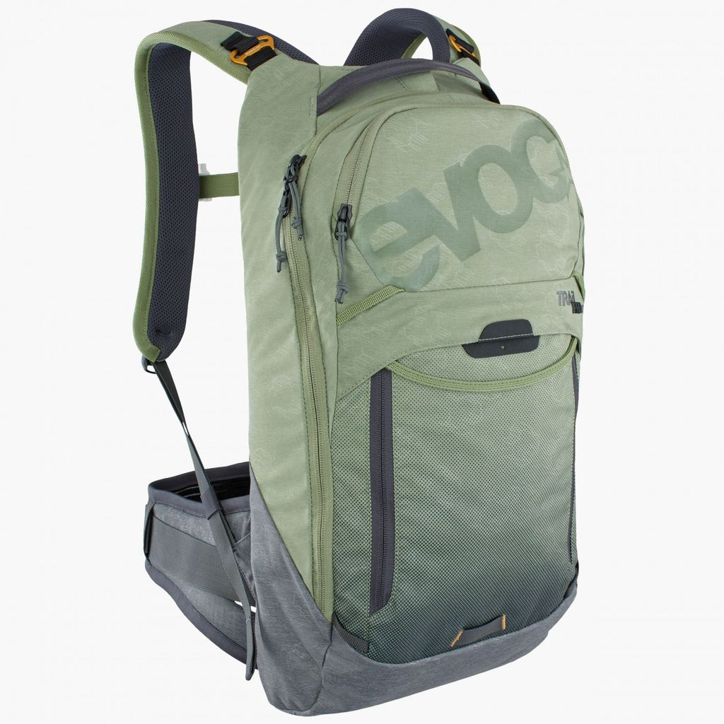 Evoc Trail Pro 10L Protector Pack S/M Light Olive/Carbon Grey
