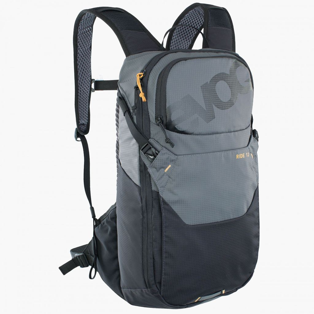 Evoc Ride 12L Pack Black/Carbon Grey