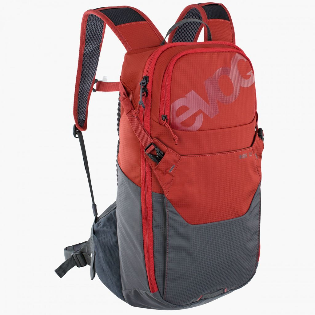 Evoc Ride 12L Pack Chili Red/Carbon Grey