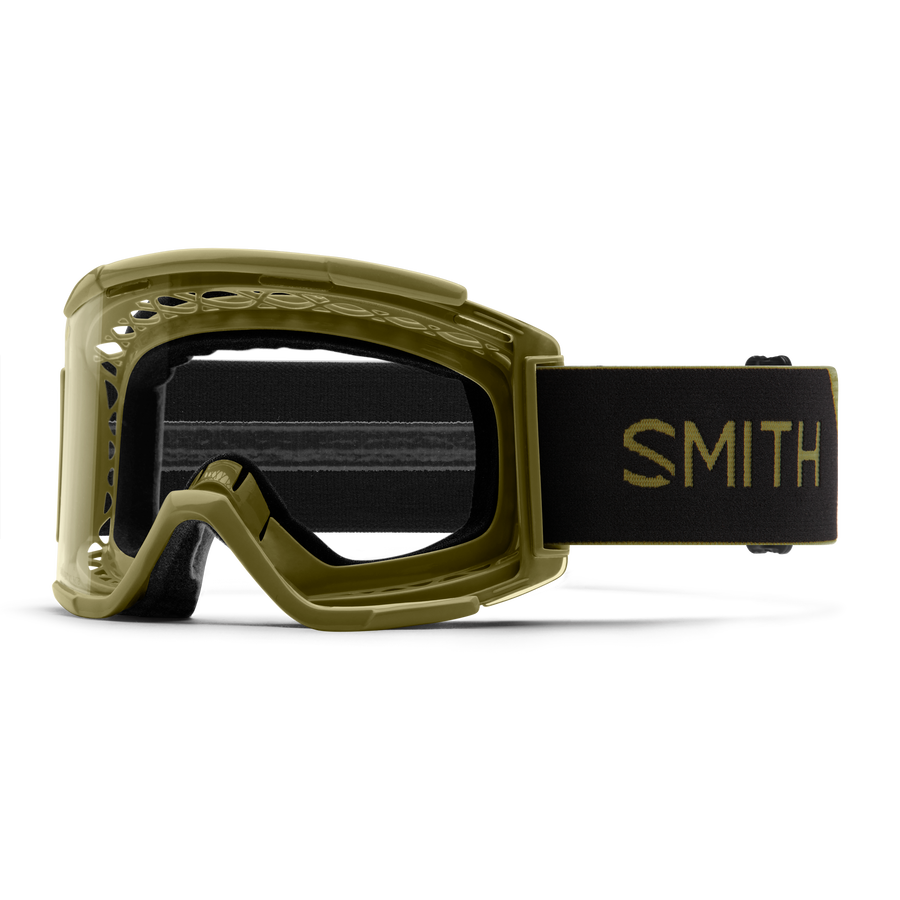 GOGGLE SQUAD XL FRAME GREEN/LENS CLEAR