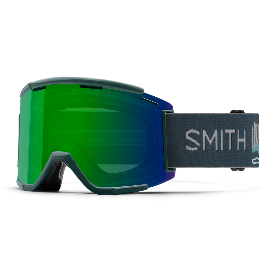 GOGGLE SQUAD XL FRAME ROCKYMOUNTAIN ENDURO/LENS GREEN/CLEAR