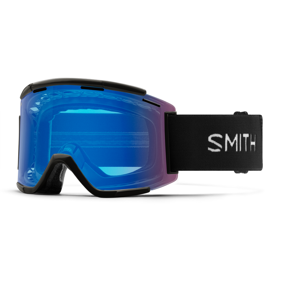 GOGGLE SQUAD MTB XL FRAME BLACK/LENS ROSE/CLEAR
