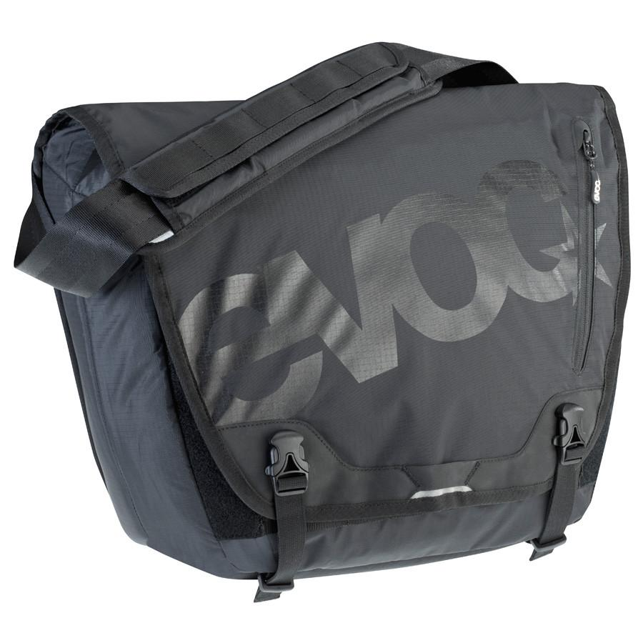EVOC MESSENGER BAG- Black- 20l