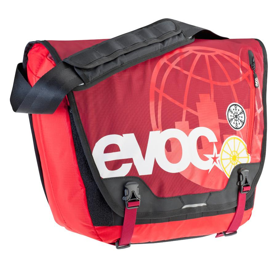 EVOC MESSENGER BAG- Red/Ruby- 20l