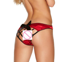 1PC Women Sexy Lace Red Panties Briefs Underwear Thongs G-String Lingerie