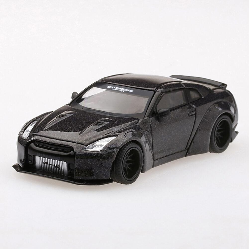 1:64 Nissan GT-R (R35) China Exclusive Magic Grey Chameleon LB★Works - 164model