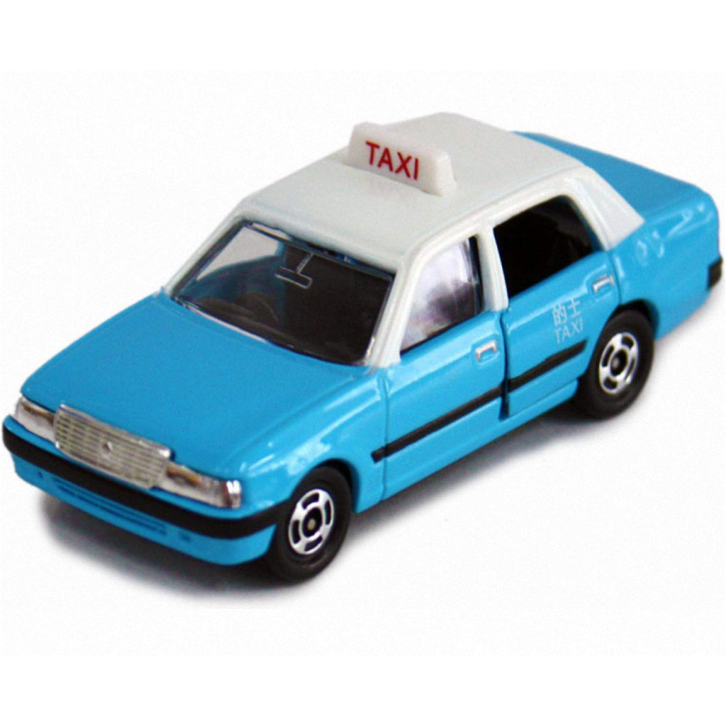 Toyota Crown Comfort Hong Kong Taxi Lantau Island Blue 1/63 Limited - 164model