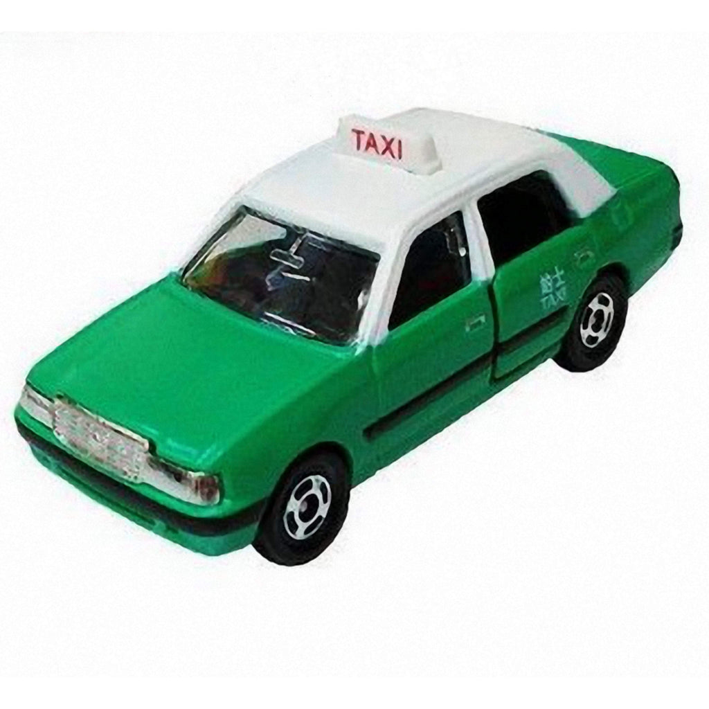 Toyota Crown Comfort Hong Kong Taxi New Territories Green 1/63 Limited - 164model