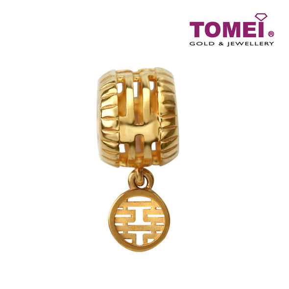 Ruler Charm | Double Happiness Wedding Collection | Tomei Yellow Gold 916 (22K)