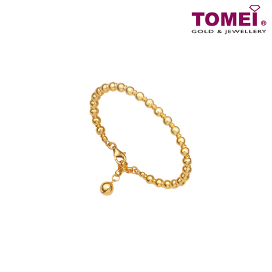 Drop of Love Baby Bracelet | Tomei Yellow Gold 916 (22K) (TZ-LB2910-A-1C)