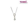 [Online Exclusive][Only Piece] Timeless Sparkle Diamond Necklace | Tomei White Gold 375 (9K) & White Gold 585 (14K) (P5832)