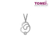[Online Exclusive][Only Piece] Timeless Sparkle Diamond Necklace | Tomei White Gold 375 (9K) (P2366V)