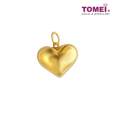 Cosmo Allure Heart Pendant | Tomei Yellow Gold 916 (22K) (PP29361C)