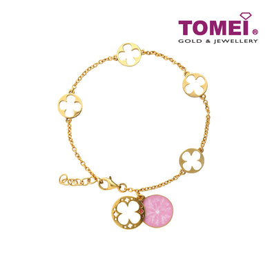 Snow Bliss Bracelet | Tomei Yellow Gold 916 (22K) (9M0400027)