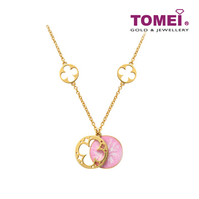 Snow Bliss Necklace | Tomei Yellow Gold 916 (22K) (9N0430251)