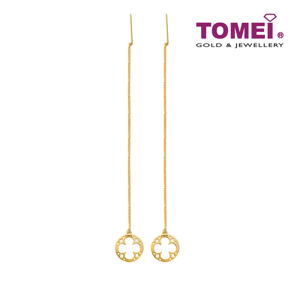 Snow Bliss Earrings | Tomei Yellow Gold 916 (22K) (9Q0251128)
