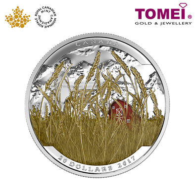 "Tomei x  Royal Canadian Mint Silver 9999 ""2016 Landscape Illusion: Pronghorn"" Numismatic Coin 1oz. (150494)"