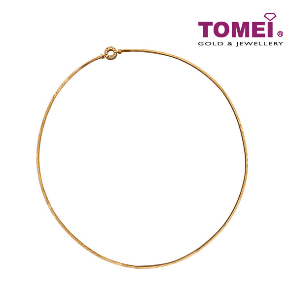 Chomel Necklace | Tomei Yellow Gold 916 (22K)