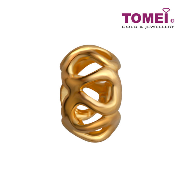 Roll of Loves Charm | Tomei Yellow Gold 916 (22K) (TM-PT012-1C)