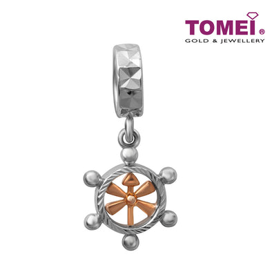 Anchor of My Life Charm | Tomei White Gold 585 (14K) (4P0011354)