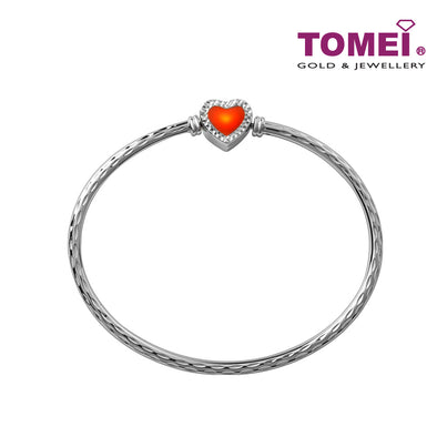 Chomel Bangle | Tomei White Gold 585 (14K) (4L0002884)