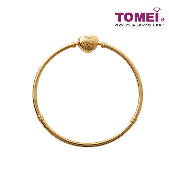 Chomel Bangle | Tomei Yellow Gold 916 (22K)