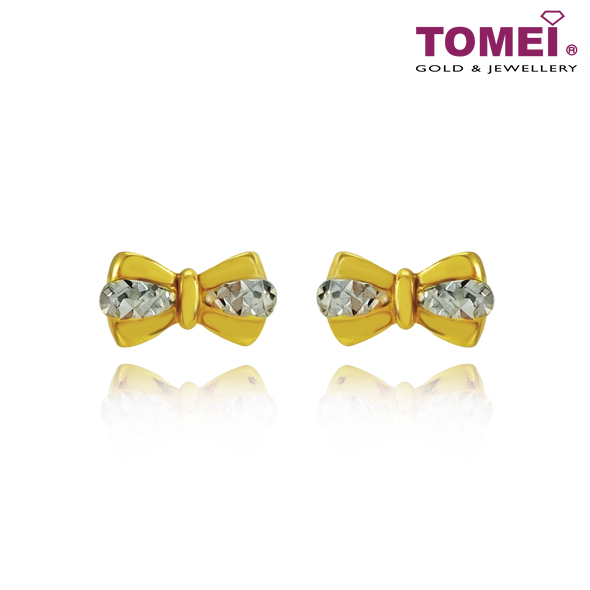 Bow Earrings | Tomei Yellow Gold 916 (22K) (9Q-YG1061E-2C)