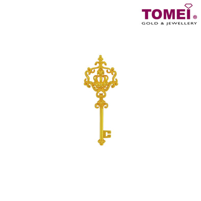 Pendant | Ooh La La Collection | Tomei Yellow Gold 916 (22K) (9P-YG0614P-1C)