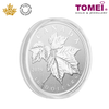 "[ONLINE EXCLUSIVE PRE ORDER] Tomei x Royal Canadian Mint Silver 9999 ""The 2019 Maple Leaf"" Numismatic Coin 1/2 Oz. (170288)"