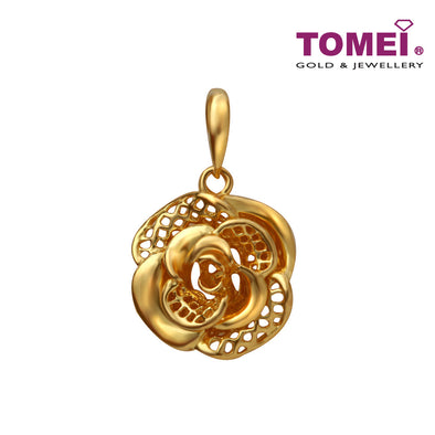 Blooming Petals Pendant | Tomei Yellow Gold 916 (22K) (9P0576274)