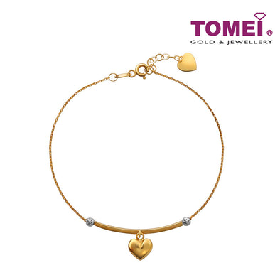 Obsessed Bar Bracelet | Tomei Yellow Gold 916 (22K) (IM0032083)
