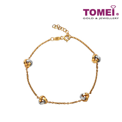 Love Secret Knot Bracelet | Tomei Yellow Gold 916 (22K) (IM0032072)