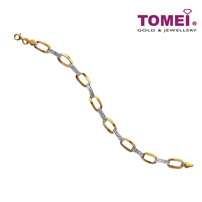Oval Link Chain Bracelet | Tomei Yellow Gold 916 (22K) (IM0032091)