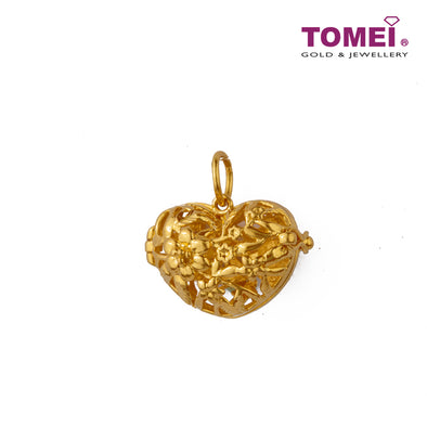 Splendorous Masterpiece of Love Opus Pendant| Tomei Yellow Gold 916 (22K) (PP0025-1C )