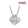 Pendant Set | Tomei White Gold 375 (9K) (P4749)
