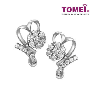 Earrings | Tomei White Gold 375 (9K) (E1047)