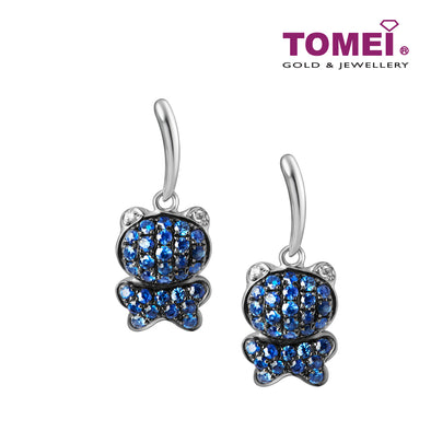 Sapphire Earrings | Tomei White Gold 750 (18K) (HK2601E)