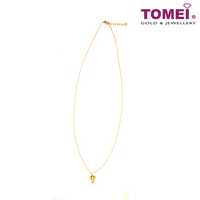 Key of Love Minimalist Necklace | Tomei Yellow Gold 999 (24K) (BTN-5D-006)